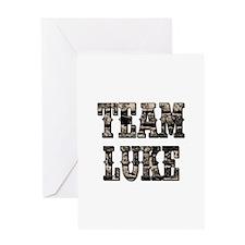 TEAM LUKE Greeting Cards