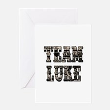 TEAM LUKE Greeting Cards