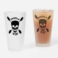 Paddle or Die! Drinking Glass