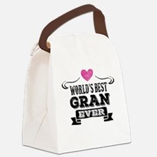World's Best Gran Ever Canvas Lunch Bag