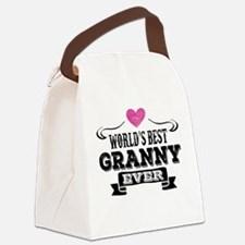 World's Best Granny Ever Canvas Lunch Bag