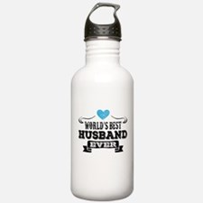 Worlds Best Husband Ever Water Bottle