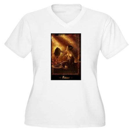 Salome Women's Plus Size V-Neck T-Shirt