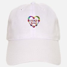 Proud Nannie Heart Baseball Baseball Cap