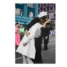 The WWII Kiss Postcards (Package of 8)