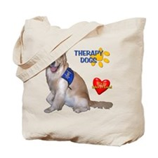 Therapy Dog Tote Bag