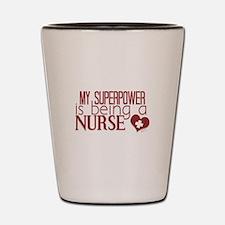 Super Nurse Shot Glass