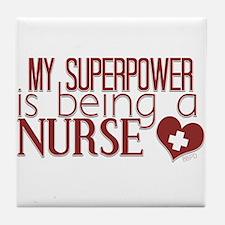 Super Nurse Tile Coaster