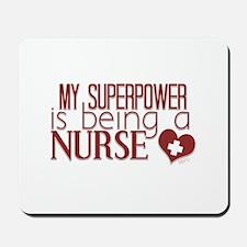 Super Nurse Mousepad