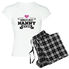 World's Best Nanny Ever Pajamas