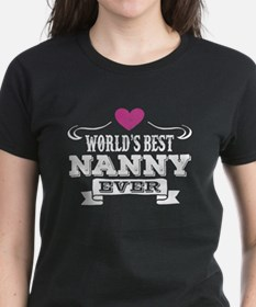 World's Best Nanny Ever T-Shirt