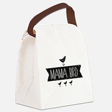 Mama Bird Canvas Lunch Bag