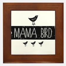 Mama Bird Framed Tile