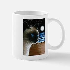 Cat 396 siamese Mugs
