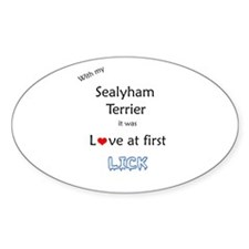 Sealy Lick Oval Decal