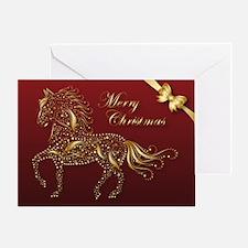 Sparkling Pf Christmas Single Greeting Cards