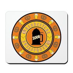 Oktoberfest buttons & gifts Mousepad
