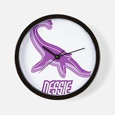 Nessie Silhouette Wall Clock