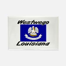 Westwego Louisiana Rectangle Magnet