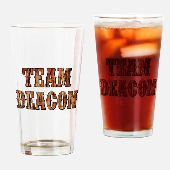 TEAM DEACON Drinking Glass
