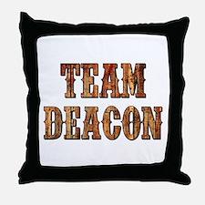 TEAM DEACON Throw Pillow