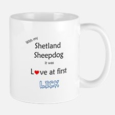 Sheltie Lick Mug
