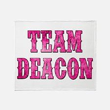 TEAM DEACON Throw Blanket