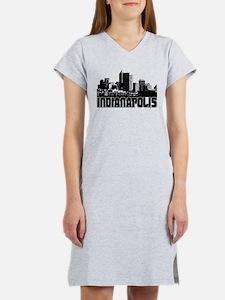 Cute Indianapolis Women's Nightshirt