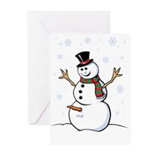 Naughty Snowman Greeting Cards (Pk of 20)