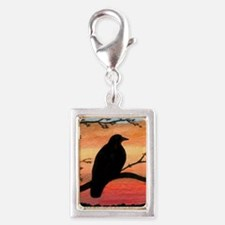 Bird 46 crow raven Charms