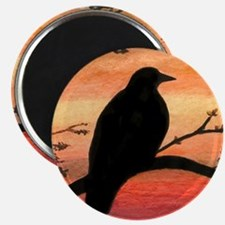 Bird 46 crow raven Magnets