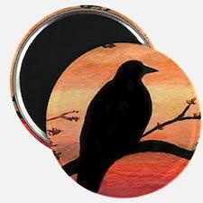 Bird 46 crow raven Magnets
