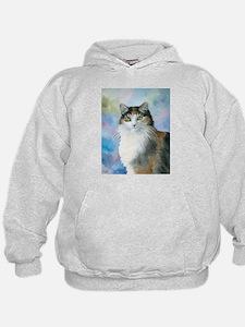 Cat 572 Calico Hoodie