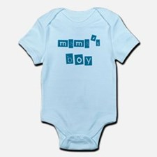 Funny Mamas boy Infant Bodysuit