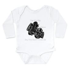 Cute Dsm Long Sleeve Infant Bodysuit