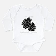 Supra Long Sleeve Infant Bodysuit