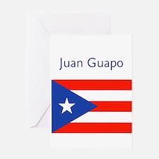 Juan Custom Puerto Rican Flag Boricua Greeting Car