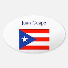 Juan Custom Puerto Rican Flag Boricua Decal