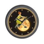 MOTHER IS A WITCH Wall Clock