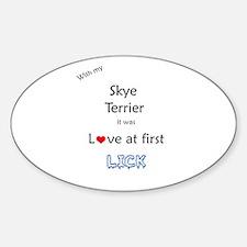 Skye Lick Oval Decal