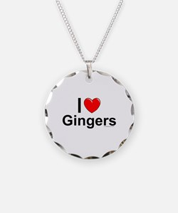 Gingers Necklace Circle Charm