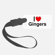 Gingers Luggage Tag