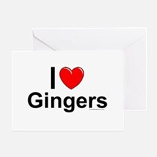 Gingers Greeting Card