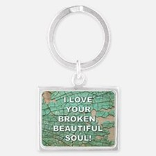 BEAUTIFUL SOUL Keychains