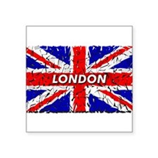 "Cute London summer games Square Sticker 3"" x 3"""