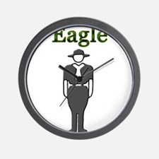 Eagle Scout Wall Clock