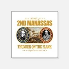"2nd Manassas (FH2) Square Sticker 3"" x 3"""