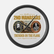 2nd Manassas (FH2) Large Wall Clock