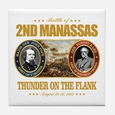 2nd Manassas (FH2) Tile Coaster