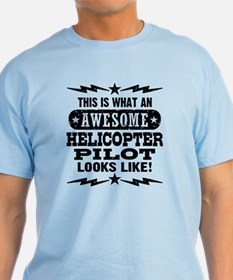Awesome Helicopter Pilot T-Shirt